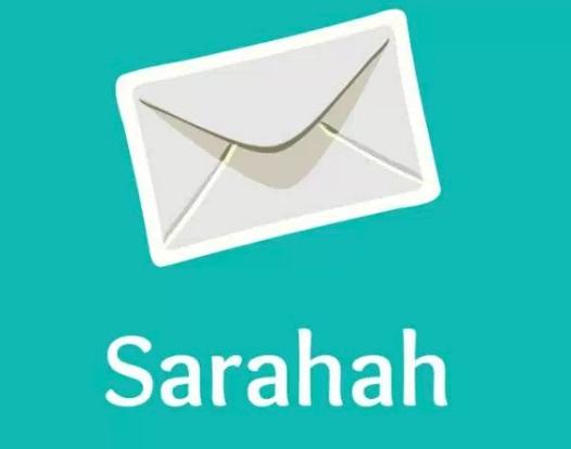 A logo do Sarahah.