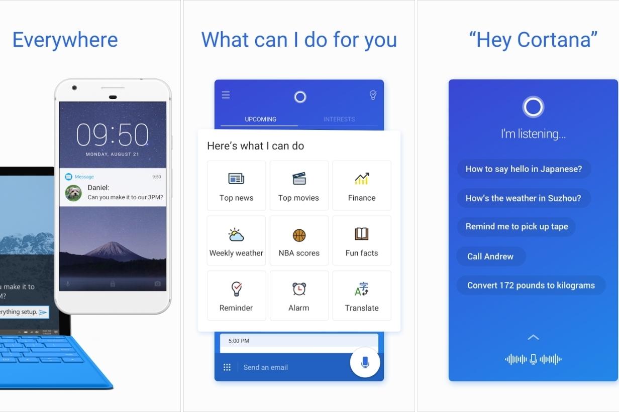 Imagem de Microsoft pode acabar com o app independente da Cortana para Android no tecmundo