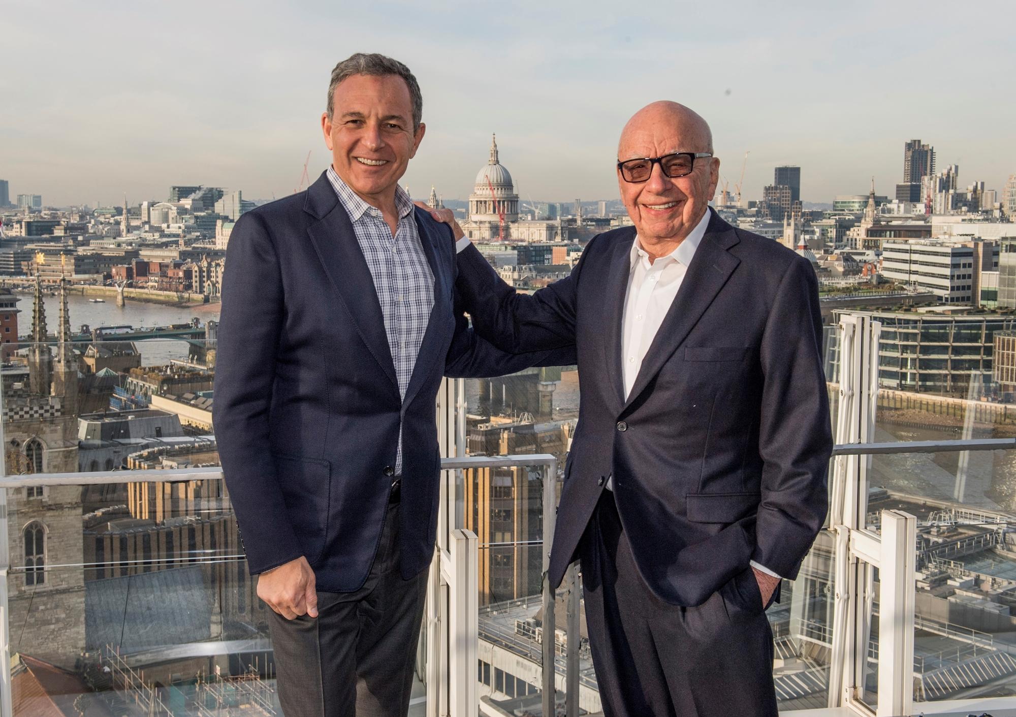 Robert Iger e Rupert Murdoch