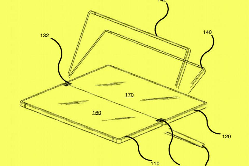 Imagem de Seria essa a resposta da Microsoft para celulares com telas dobráveis? no tecmundo