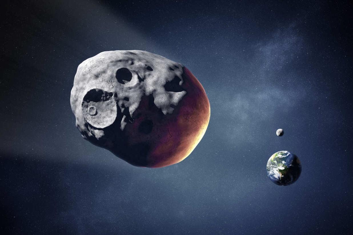 Imagem de NASA fotografa asteroide com 6 km de diâmetro passando perto da Terra no tecmundo