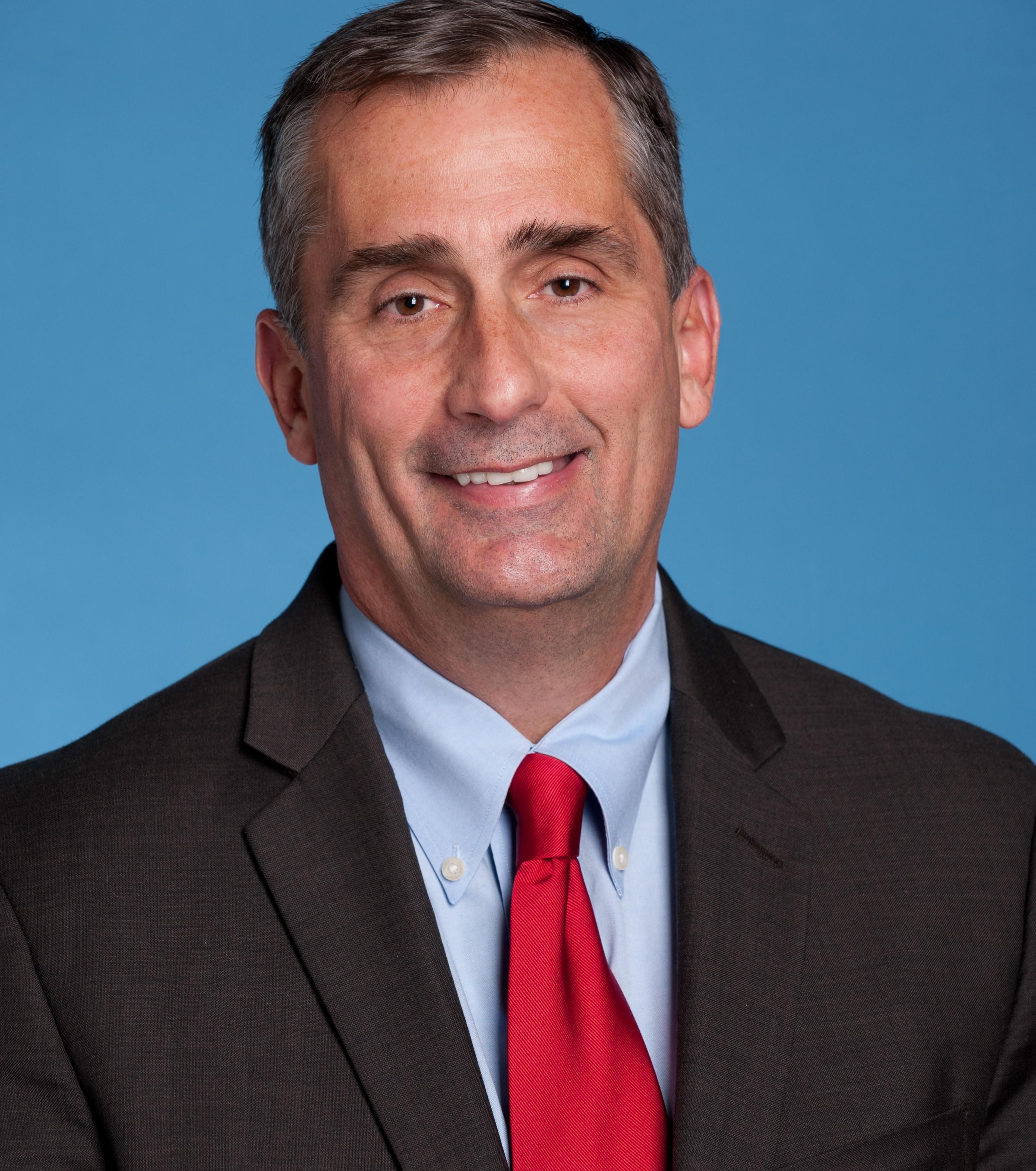 Brian Krzanich, CEO da Intel