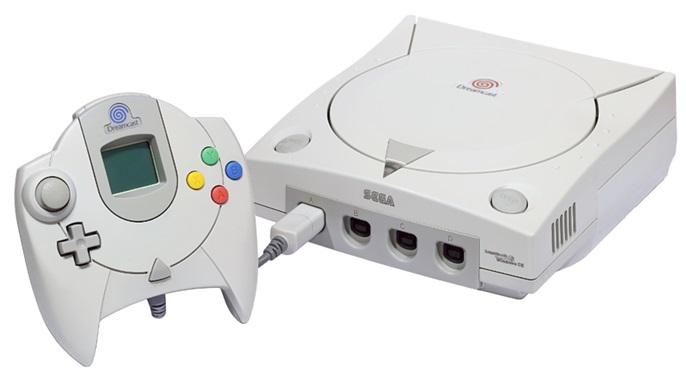 Um Dreamcast.