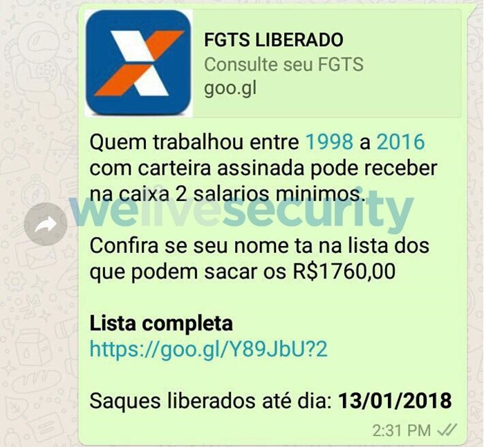 Golpe do FGTS