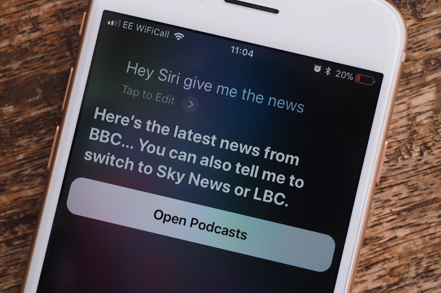 Imagem de Siri vai falar as notícias do dia para você por meio de comando de voz no tecmundo