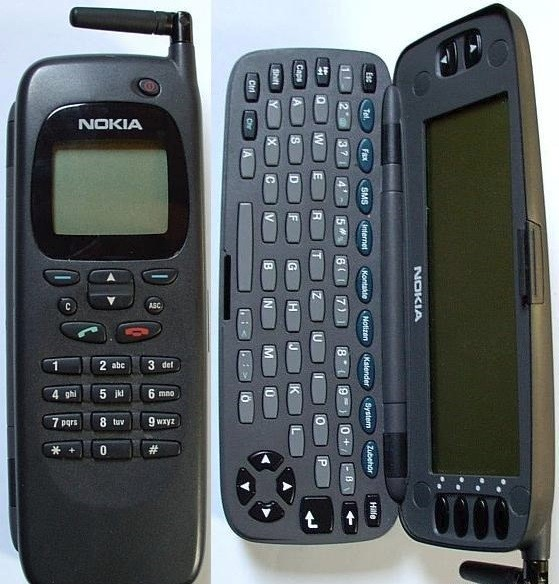 Um celular.