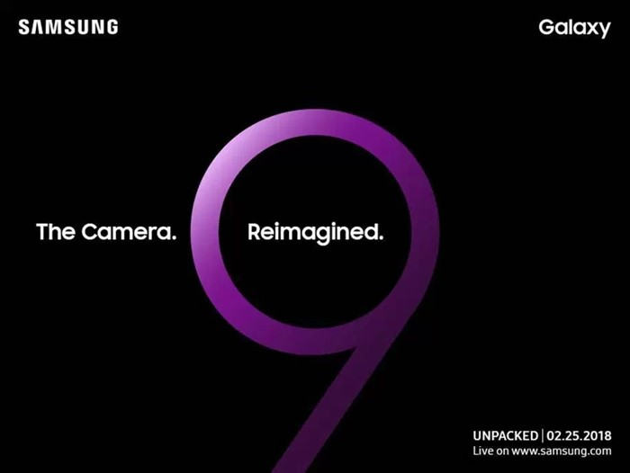 Convite Galaxy S9