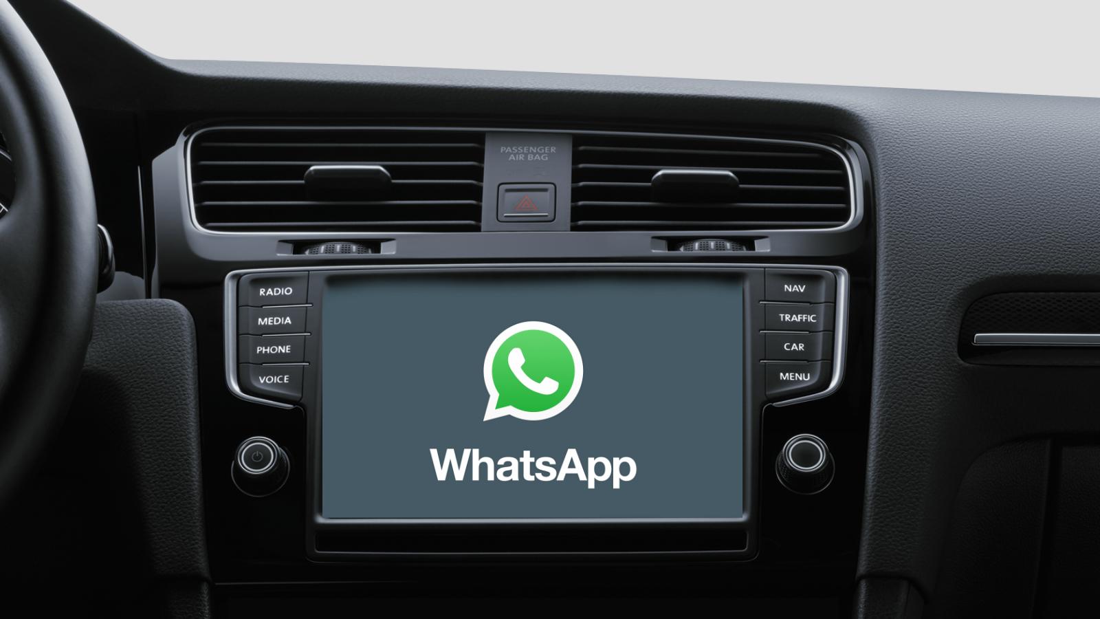 Imagem de WhatsApp vai poder ser usado para conversar no Apple CarPlay no tecmundo