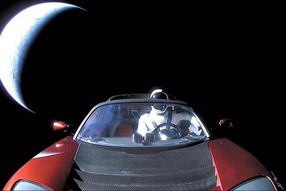 Imagem de É hora de se despedir do Starman com sua última foto antes de ir para Marte no tecmundo