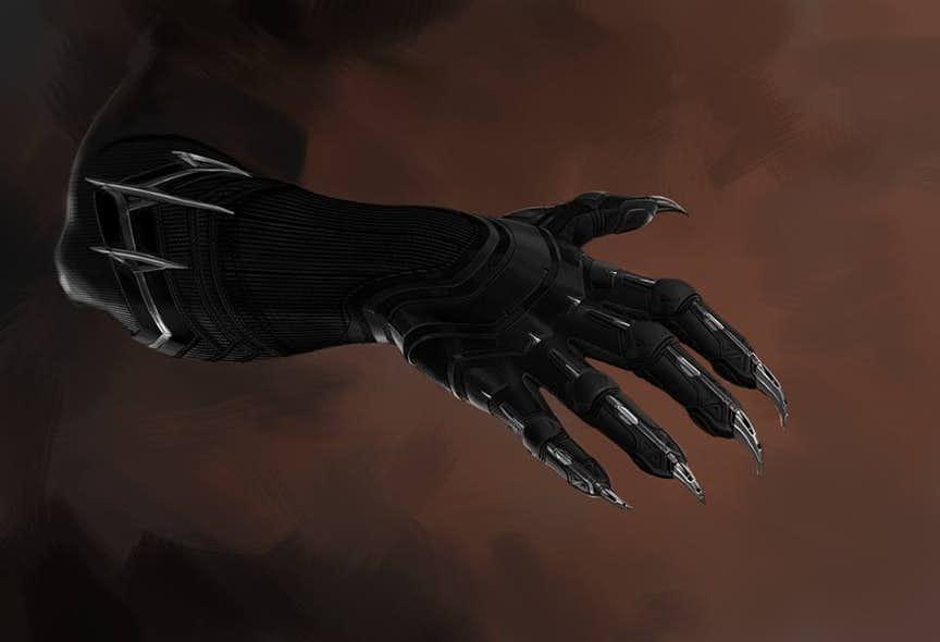 pantera negra traje marvel