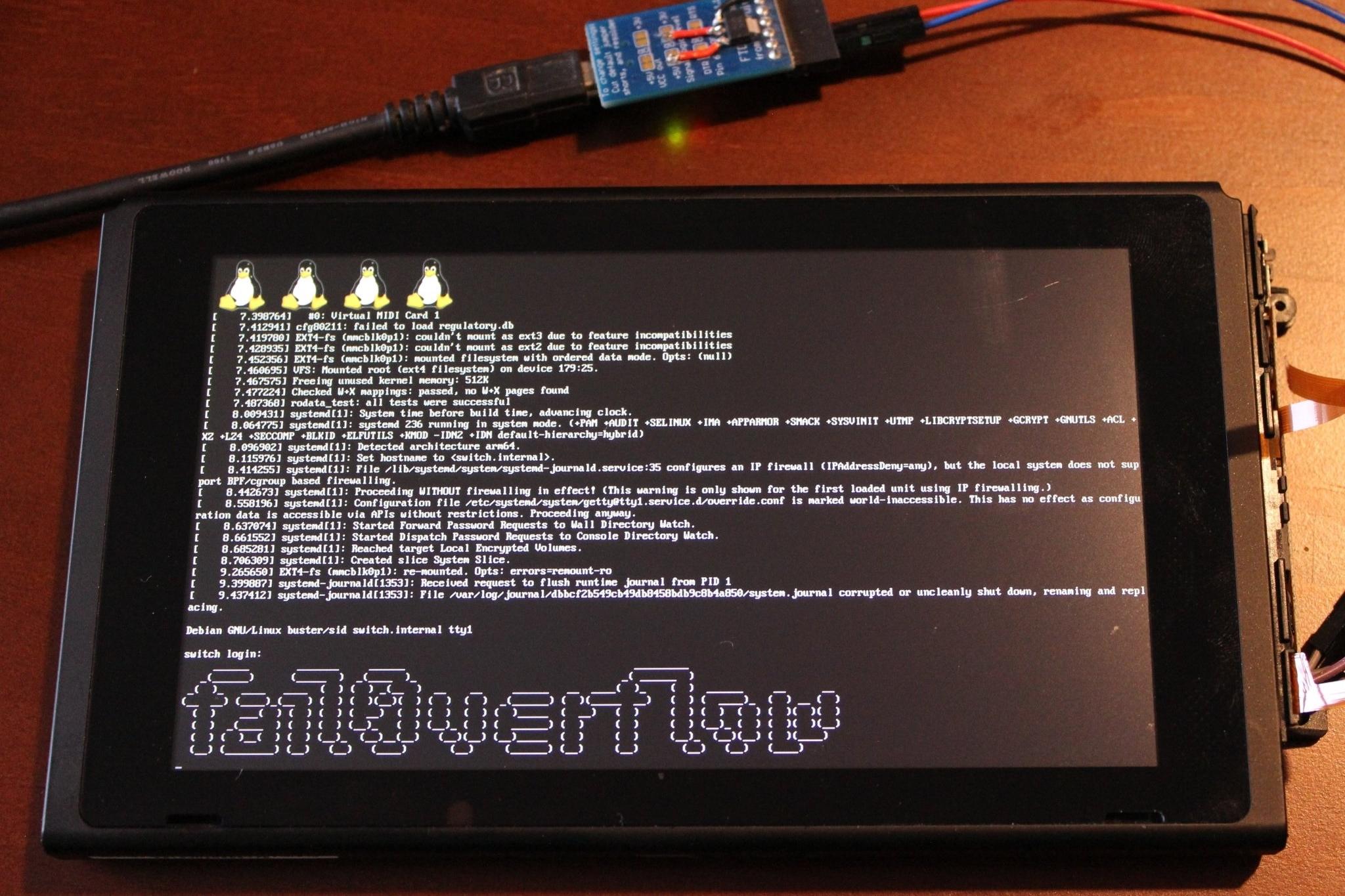 Imagem de Nintendo Switch foi oficialmente desbloqueado por hackers no tecmundo