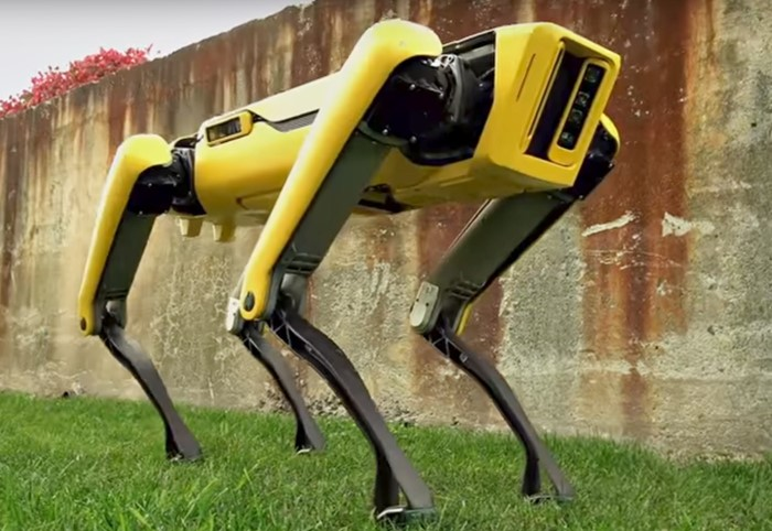 boston dynamics robô cachorro