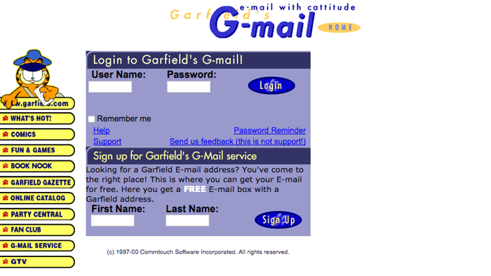 Garfield Mail