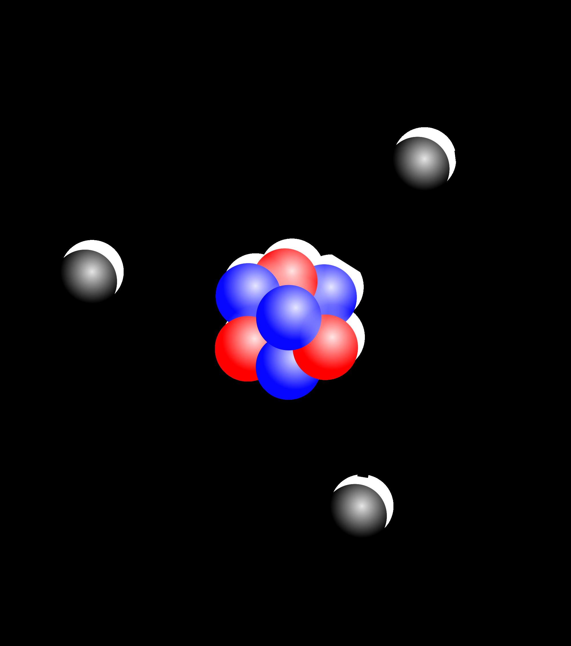 Estrutura de um átomo