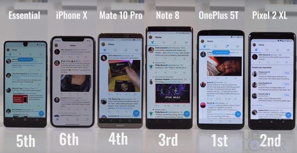 twitter teste smartphone