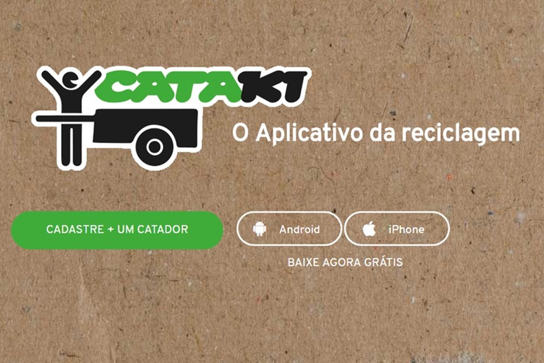 """Imagem de Cataki, o """"Tinder da reciclagem"""" recebe prêmio por inovação no tecmundo"""