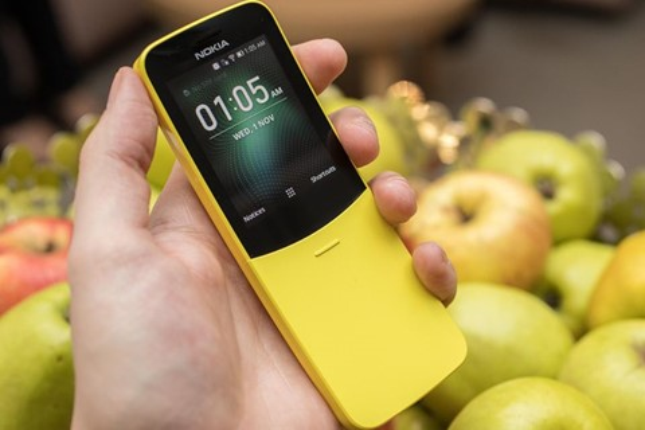 """Imagem de HMD relança o Nokia 8110, o """"banana phone"""" do filme Matrix  no tecmundo"""