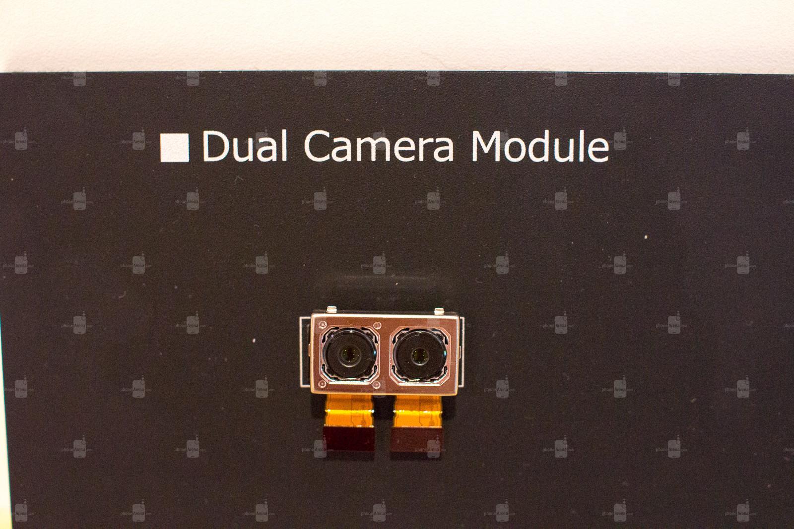 Módulo de câmera dupla da Sony