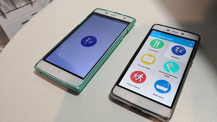 Dois smartphones.