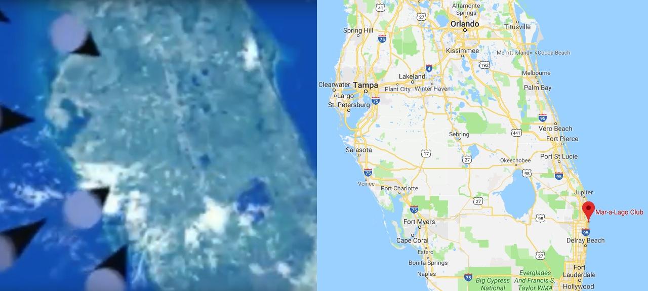Dois mapas.