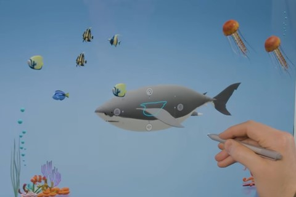 Imagem de Microsoft demonstra nova forma de edição e visualização no Paint 3D no tecmundo