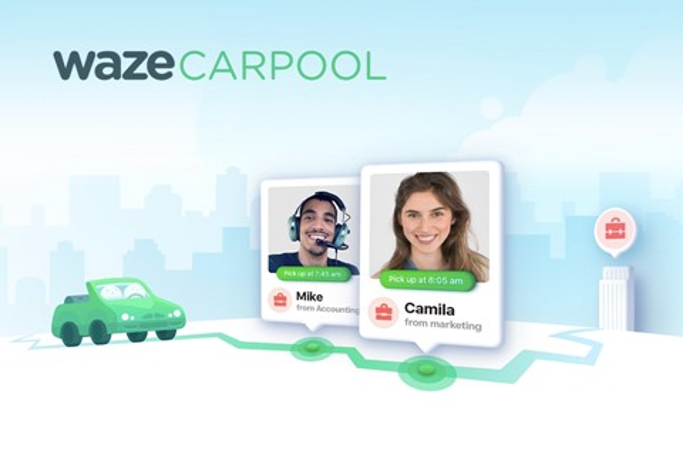 Imagem de Carpool, o app de carona do Waze, ganha redesign completo e novidades no tecmundo