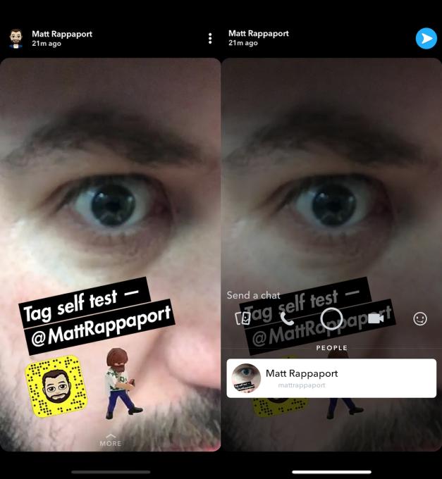 Nova função Snapchat