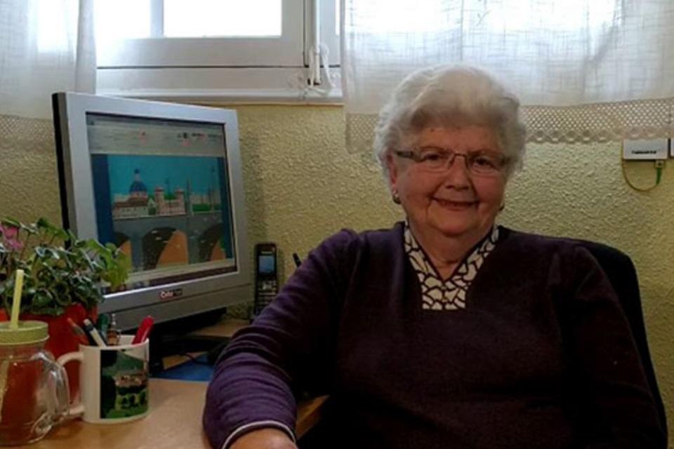 Imagem de Vovó de 87 anos é a rainha do Paint e você precisa conhecer o trabalho dela no tecmundo