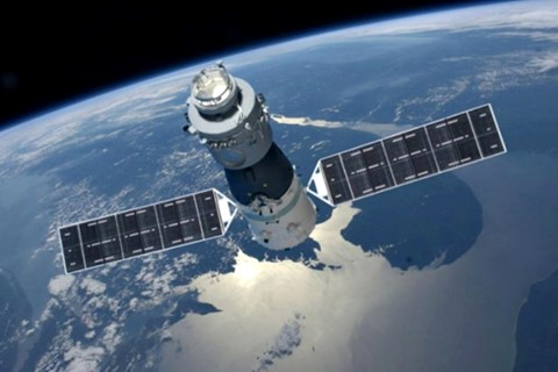 Imagem de Estação espacial chinesa descontrolada deve cair na Terra no dia 31 no tecmundo