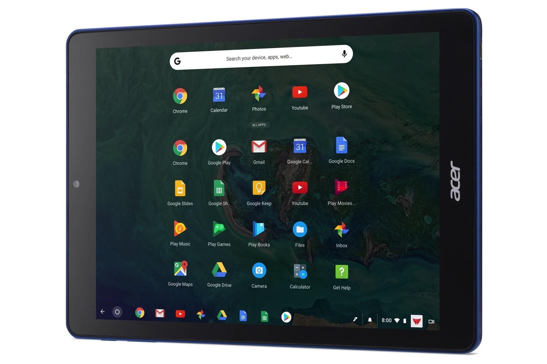 Imagem de Acer anuncia primeiro tablet com Chrome OS com foco em educação no tecmundo