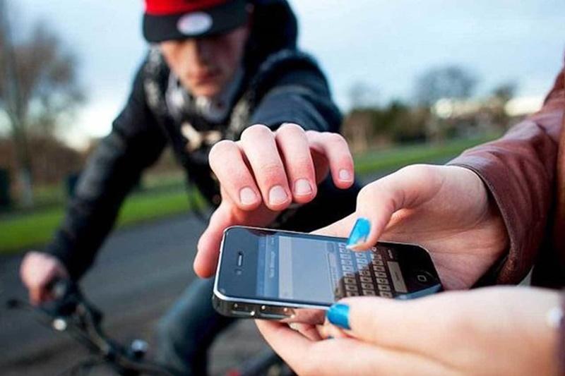 roubo celular