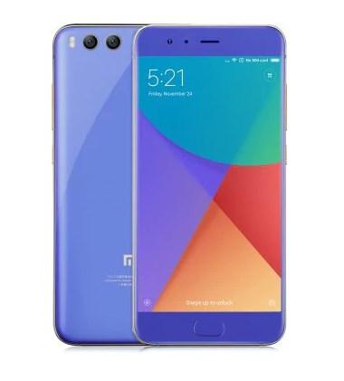 Um smartphone Xiaomi.