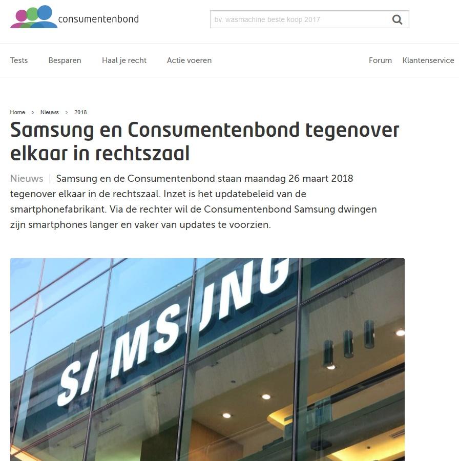 consumentenbond samsung