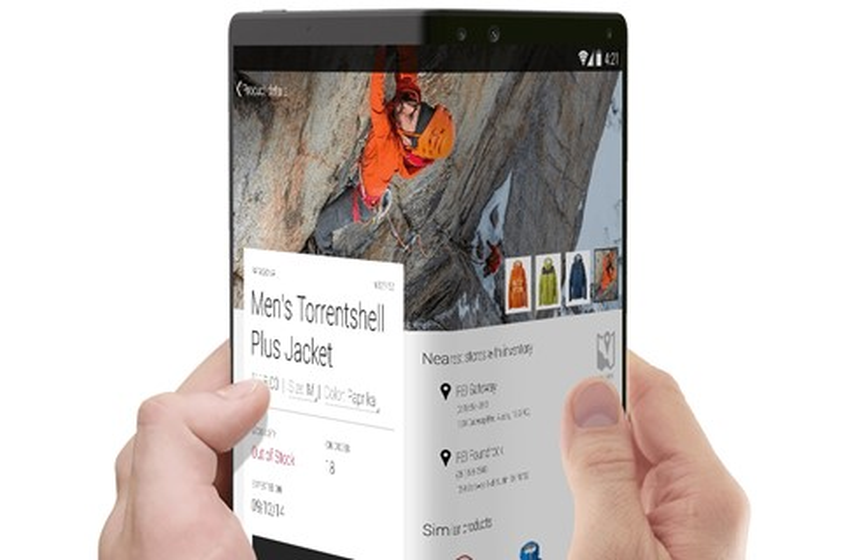 Imagem de Patente da Huawei mostra smartphone com tela dobrável no tecmundo