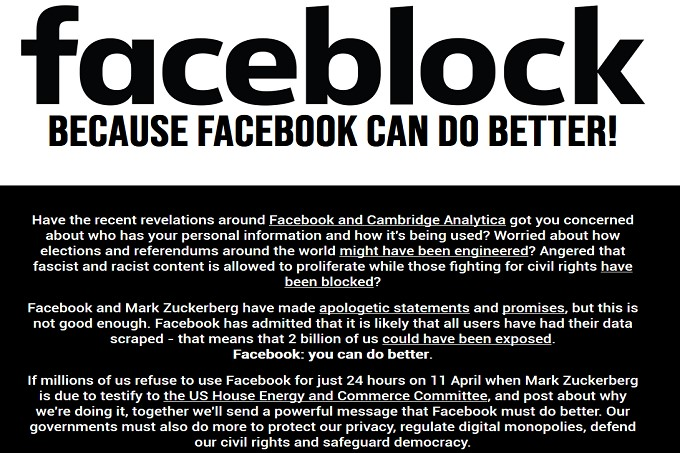 facebook faceblock