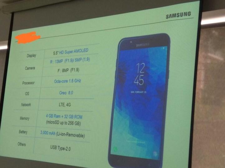 Uma apresentação de slides.