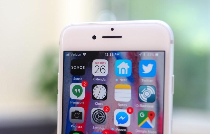 Um iPhone.