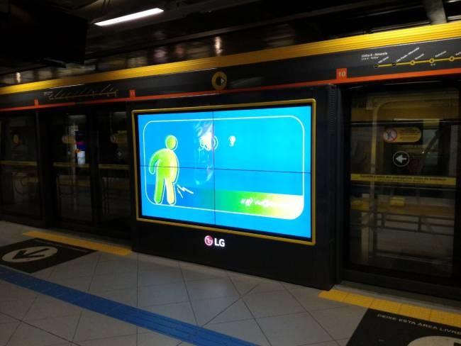 portas metrô
