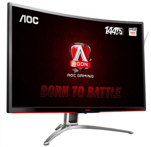 Um monitor.