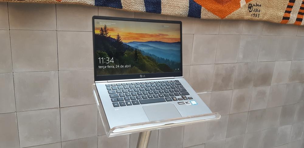 LG Gram notebook 14 polegadas