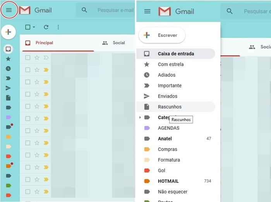 gmail novo