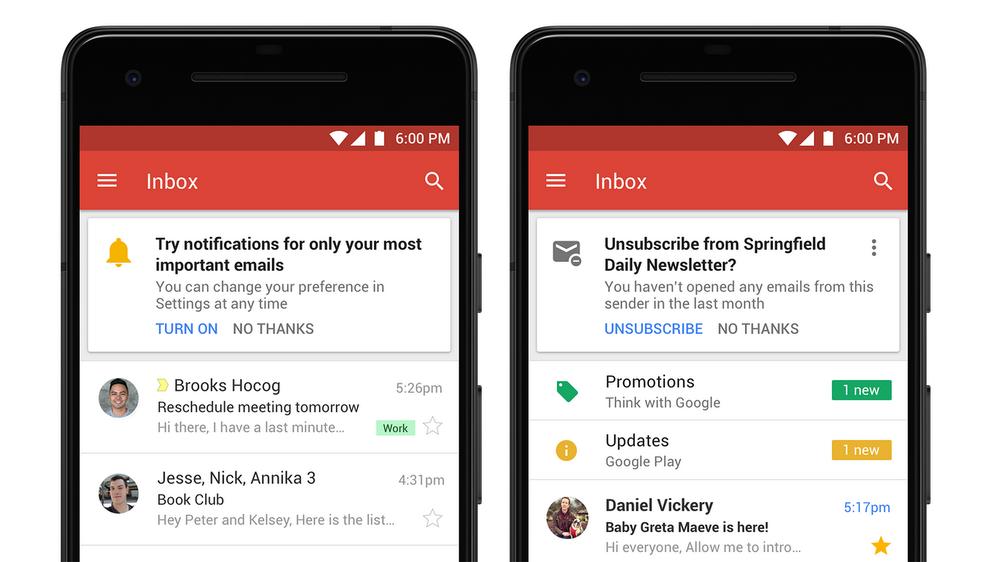 Novo Gmail