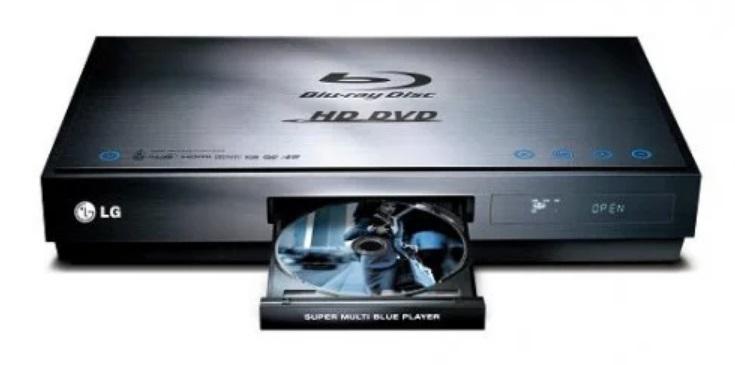 Um aparelho de DVD.