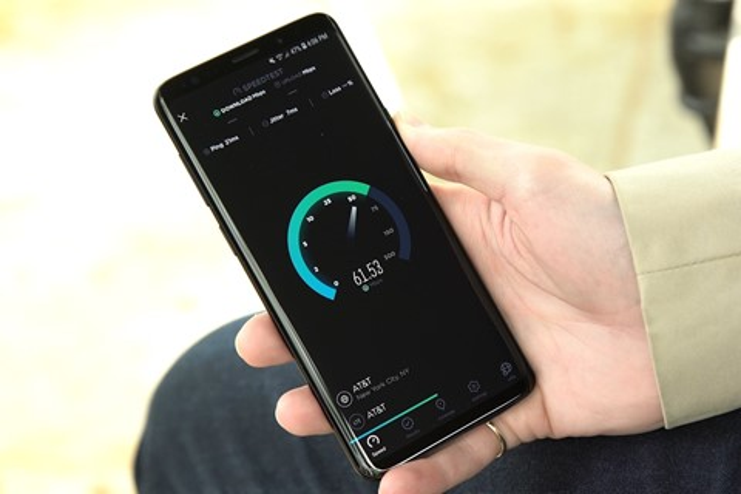Imagem de Velocidade do 4G no S9 e no S9+ é 42% maior do que nos iPhones de 2017 no tecmundo