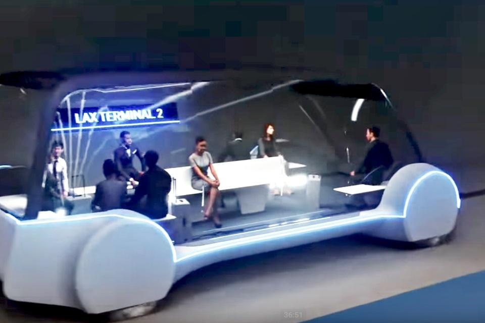 Imagem de Musk revela o Loop, novo sistema de transporte por túnel rápido e barato no tecmundo