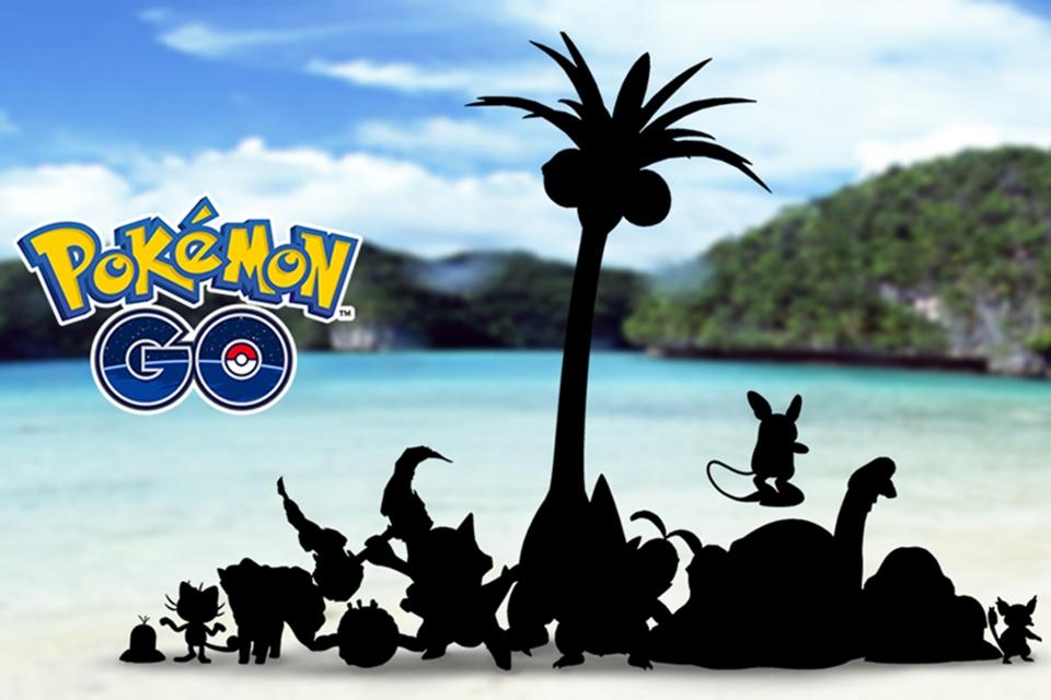 Imagem de Pokémon GO: versões Alola dos pokémons de Kanto estão chegando ao game no tecmundo