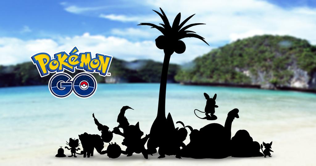 Pokémon GO: versões Alola dos pokémons de Kanto estão chegando ao game