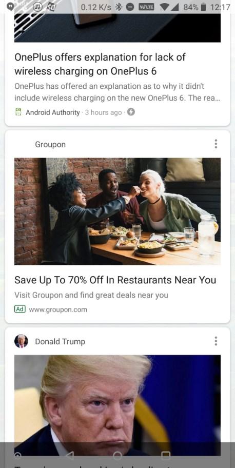 Google testa exibição de anúncios em feed do aplicativo de busca