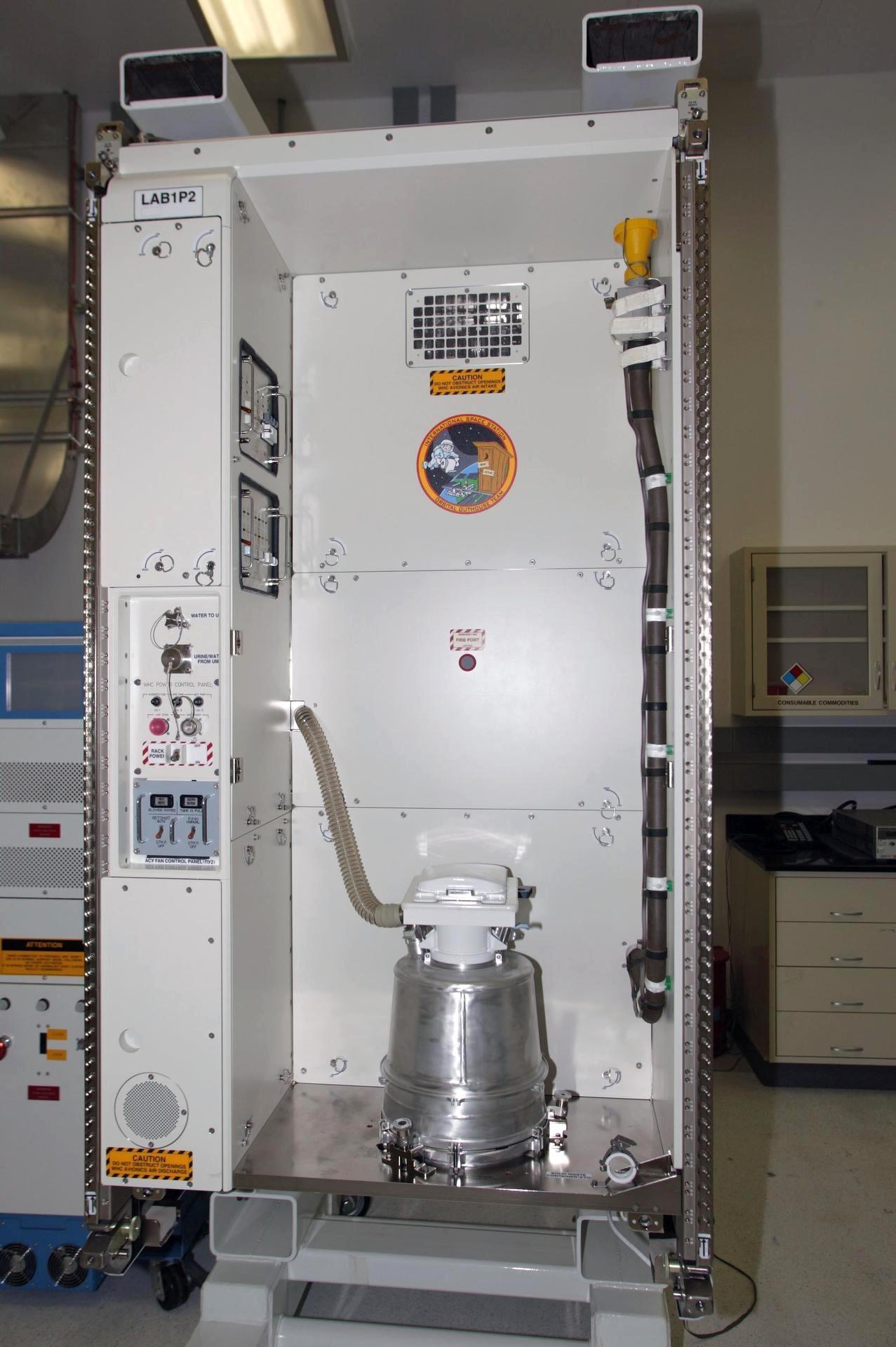 Banheiro espacial