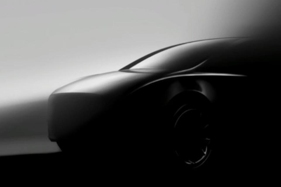 Um carro.